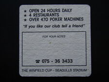 SEAGULLS VEGAS ON THE TWEED WINFIELD CUP STADIUM OVER 470 POKER MACHINES COASTER