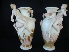 BEAUTIFULCERAMIC /PORCELAIN ROYAL DUX STYLE VASES