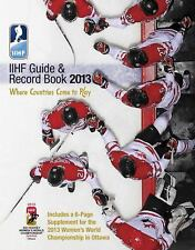 IIHF 2013 Guide and Record Book-ExLibrary