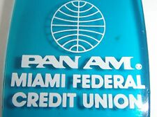 Vintage Pan Am Miami Federal Credit Union Key Fobs