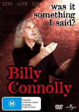 Billy Connolly Was It Something I Said? New DVD Region 4 Sealed