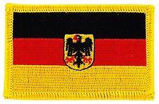 Parche bandera PATCH ALEMANIA CON AGUILA 7x4,5cm bordado termoadhesivo nuevo