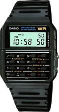 Negro Casio Unisex Retro Calculadora Cronómetro Vintage Reloj Deportivo ca-53w-1er