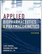 Applied Biopharmaceutics & Pharmacokinetics, Fifth Edition Shargel, Applied