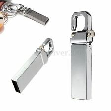 32GB USB 2.0 Metal Flash Pen Drive Memory Stick Thumb Portable Keychain U Disk