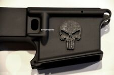 3D Decal, Sticker, Punisher Skull for AR15 Magwell, Stock or any Gun Rifle