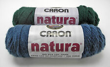 Caron Natura 4-Ply Worsted Acrylic Yarn - 2 Skeins: 1 Forest/1 Cape Cod Blue