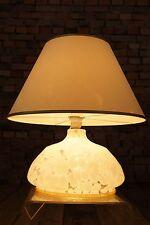 70s Tischlampe Vintage 70er Lampe Space Age Tischleuchte STEHLAMPE LEUCHTE Glas