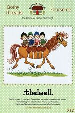 BOTHY THREADS THELWELL FOURSOME CARTOON HORSE CROSS STITCH KIT