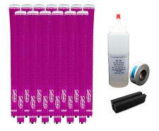 13 New Lamkin REL 3GEN Neon Pink Undersize Golf Grips - Free Grip Kit