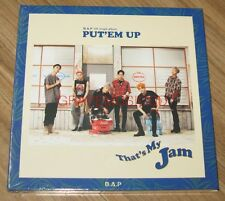 B.A.P BAP PUT'EM UP 5th Single Album K-POP CD + PHOTOCARD + POSTER IN TUBE CASE
