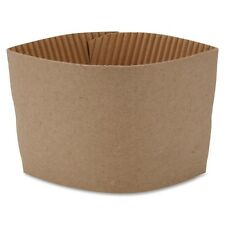 Hot Cup Corrugated Brown Sleeves for 10-16oz Coffee Cups- 50 Pack (21200)