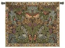 WILLIAM MORRIS ACANTHUS FLORAL GARDEN RAYON ART TAPESTRY WALL HANGING 70x57