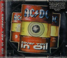 AC/DC Cover you in oil 3 tr. shaped CD rare german only