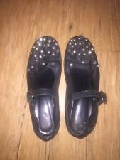 Tao Comme Des Garcons Studded Mary Jane Ballet Flats M 39 40 9 9.5