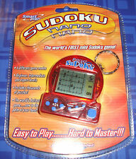 Sudoku Nano Keychain Electronic Handheld Travel Game New In Package Sealed