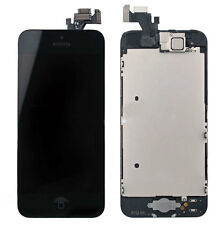 Replacement Glass Front LCD Screen & Digitizer Assembly For Apple iPhone 5 Black