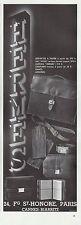 PUBLICITE  HERMES SAC A MAIN   HANDBAG MODE FASHION ART DECO    AD  1932  - 6G