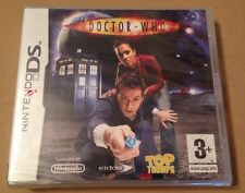 Doctor Who Top Trumps Game For Ds Dsi Ds Lite 3Ds Nintendo STILL SEALED!