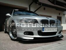 BMW E46 98-05 M tech HM Style Front Bumper spoiler lip Chin M sport pack Power