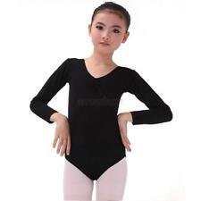 Girls Kids Cotton Ballet Dance Leotard Gymnastics Bodysuit Leotards Costume A14