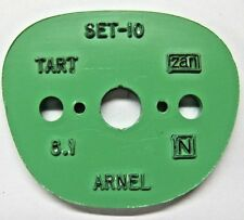 Tart Optical OTE Arnel Pattern used for cutting lens on machine vintage collect