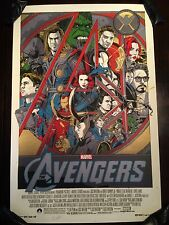 The Avengers Mondo Movie Poster Art Print Tyler Stout Captain America Iron Man