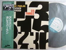 HORACE PARLAN US THREE / JAPAN BLUE NOTE KING WITH OBI