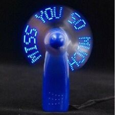 "Handheld LED Fan Saying ""I Love You"" Flash Message 