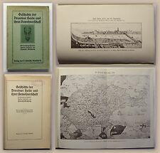 Meschwitz Geschichte der Dresdner Heide & ihrer Bewohner 1911 Sachsen Ortskunde