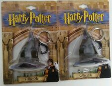 """LOT OF 2 Harry Potter & the Sorcerer's Stone Collectible Witch Hat Key Chain 2"""""""
