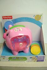 Fisher Price Laugh/Learn Count Piggy Bank New 6-36 Mos.