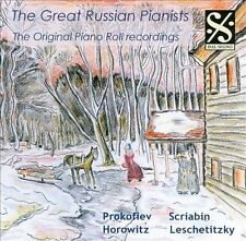 The Great Russian Pianists: The Original Piano Roll Recordings / performances by