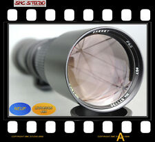 OBJECTIF 500mm pour NIKON D4 D3 D2 D1 + Bague T2 offerte - TELE fonctionnel!
