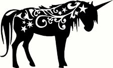 Unicorn Horse Horn Mystical Animal Car Truck Window Laptop Vinyl Decal Sticker