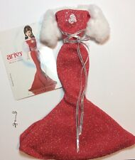2004 Mattel Barbie Zodiac Aries Dress, Fur Bolero, Bracelet + Card  - NEW