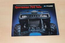00780) Polaris Sportsman 700 Twin ATV Prospekt 200?