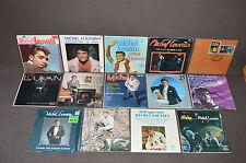 MICHEL LOUVAIN 14 LP VINYL ALBUMS LOT COLLECTION 21 Disques d'or/Aloha/L'Amour+