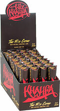 32 Packs of 6 Ea. Wiz Khalifa Rolling Paper Cones Natural Pre-Rolled 1 1/4