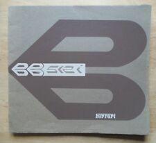 FERRARI BB512i BERLINETTA BOXER ORIG 1981 grande prestigio vendita BROCHURE - # 221/81