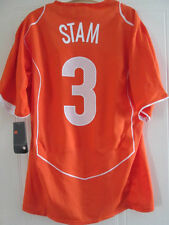 Holland 2004-2006 Stam #3 Home Football Shirt Large Adults /37893 BNWT