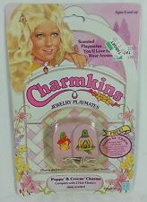 Vintage CHARMKINS HASBRO Poppy & Crocus mint New sealed 1983 parrot bird cat