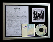 GENESIS I Can't Dance GALLERY QUALITY CD LTD FRAMED DISPLAY+EXPRESS GLOBAL SHIP