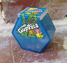 RARE Vintage 1989 Willy Wonka GUPPIES Candy Fish Tank Container bubble gum box