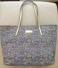 NWT Lilly Pulitzer Resort Tote Bag Bright Navy Upscale