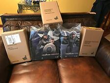 Hot Toys Captain America Winter Soldier LOT - Nick,Falcon,Widow,Steve Rogers