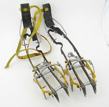 Grivel Rambo Crampons, 12 point, vetical ice climbing mountaineering alpine