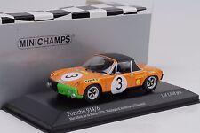 1971 VW Porsche 914/6 Marathon Route #3 Waldegard Andersson 1:43 Minichamps