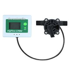 Digital Flow Meter for RO Systems Measures Low Flow Rates 0.04-1L/Min