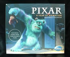 DISNEY PIXAR DAILY CALENDAR 2012 A YEAR OF ANIMATION